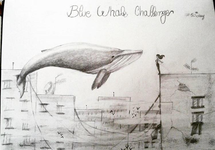 """BLUE WHALE CHALLENGE"""